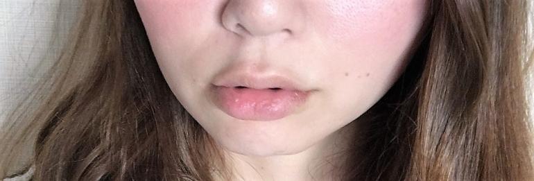 使用前の唇