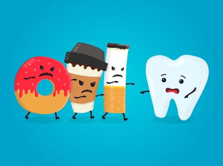 歯と歯の敵