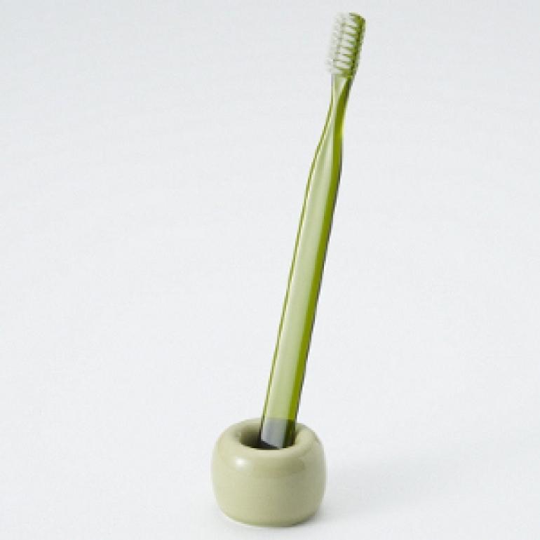 磁器歯ブラシスタンド